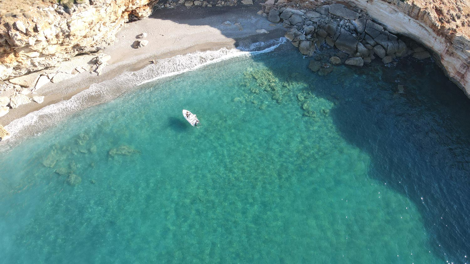 Spilies Beach - Rent a boat Rethymno